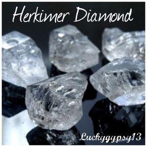 Herkimer Diamonds plus various stones